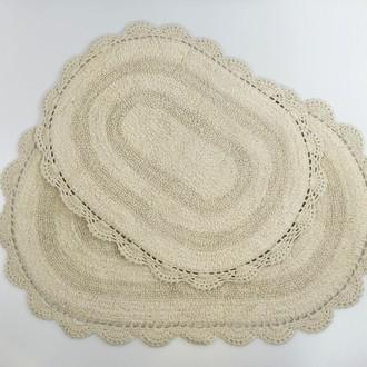 Набор ковриков для ванной Modalin DIANA бежевый