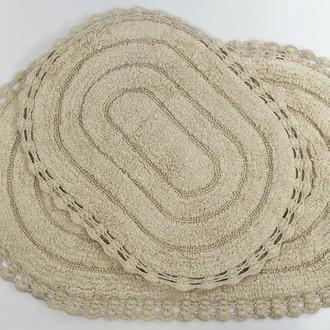 Набор ковриков для ванной Modalin YANA капучино