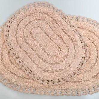 Набор ковриков для ванной Modalin YANA пудра