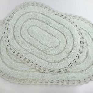 Набор ковриков для ванной Modalin YANA хлопок ментол