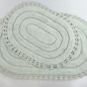 Набор ковриков для ванной Modalin YANA хлопок (ментол)