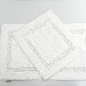 Набор ковриков для ванной Modalin KARLA белый