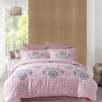 Комплект постельного белья Altinbasak SAYKA сатин грязно-розовый