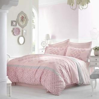Комплект постельного белья Altinbasak ALONA сатин розовый