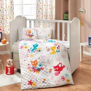 Набор в детскую кроватку для новорожденных Hobby MIRMIR белый ясли