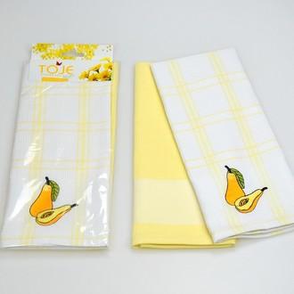 Набор полотенец Pinar ANDORA жёлтый V2