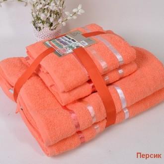 Набор полотенец Karna BALE 50х80(2), 70х140(2) персиковый