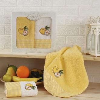 Набор полотенец Karna TEA SET жёлтый