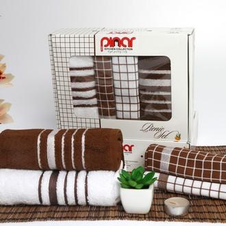 Набор полотенец Pinar PICNIC SET коричневый