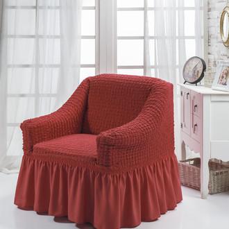 Чехол на кресло Bulsan BURUMCUK (кирпичный)