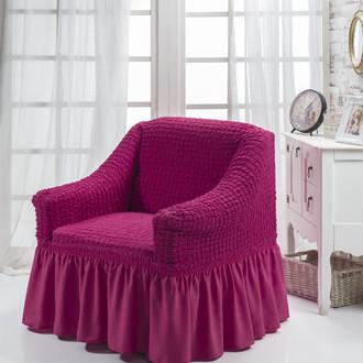 Чехол на кресло Bulsan BURUMCUK (фуксия)