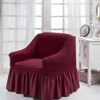 Чехол на кресло Bulsan BURUMCUK бордовый