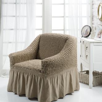 Чехол на кресло Bulsan BURUMCUK кофейный