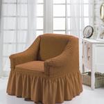 Чехол на кресло Bulsan BURUMCUK горчичный, фото, фотография