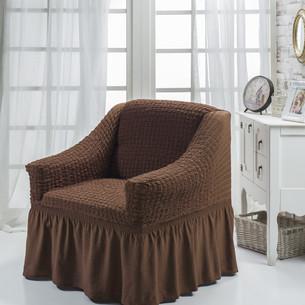 Чехол на кресло Bulsan BURUMCUK коричневый