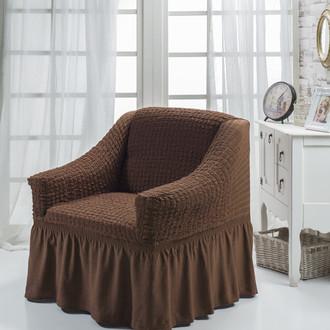Чехол на кресло Bulsan BURUMCUK (коричневый)