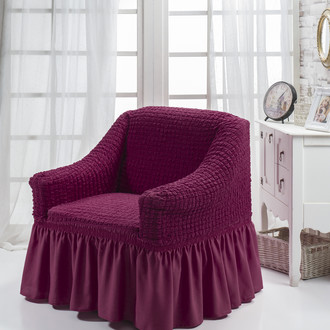 Чехол на кресло Bulsan BURUMCUK (светло-лавандовый)