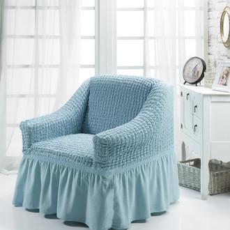 Чехол на кресло Bulsan BURUMCUK (бирюзовый)
