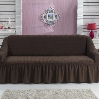 Чехол на диван Bulsan BURUMCUK (коричневый)