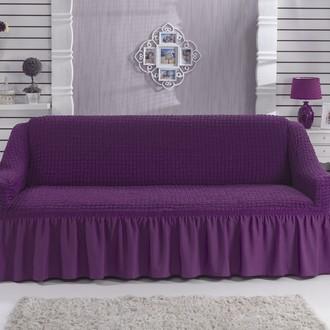 Чехол на диван Bulsan BURUMCUK (фиолетовый)