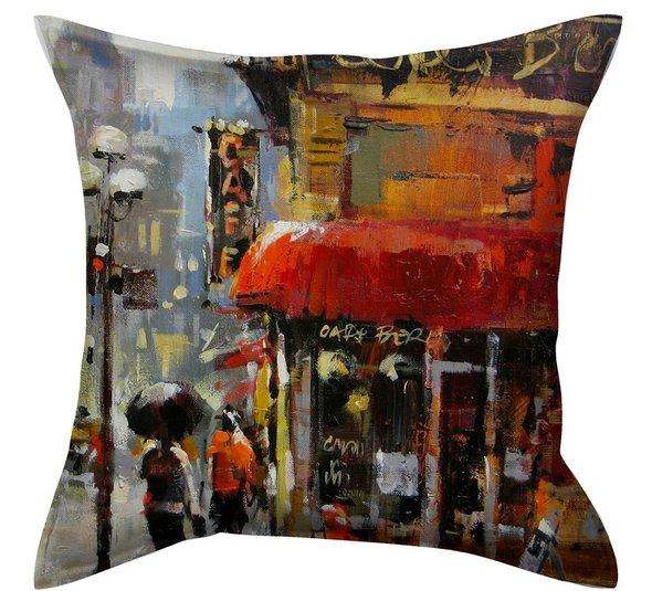 Декоративная подушка Garden V20 45*45, фото, фотография