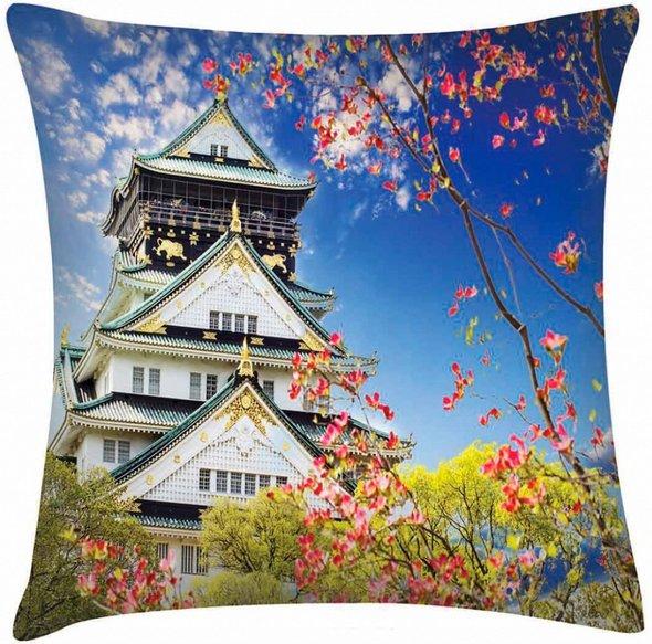 Декоративная подушка Garden V8 45*45, фото, фотография