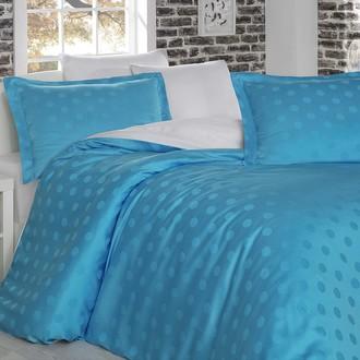 Комплект постельного белья Hobby DIAMOND SPOT бело-голубой