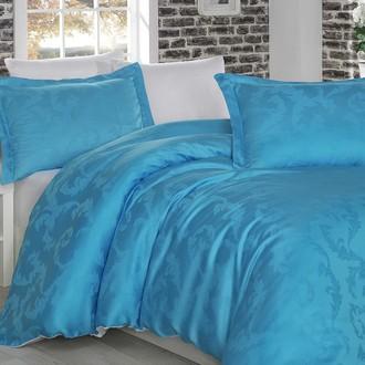 Комплект постельного белья Hobby DIAMOND FLOWER бело-голубой