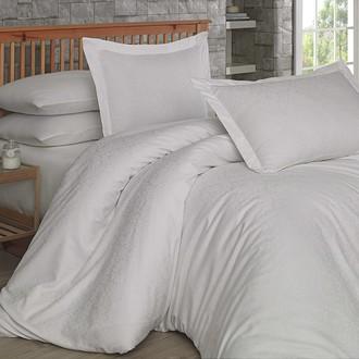 Комплект постельного белья Hobby DAMASK сатин-жаккард кремовый