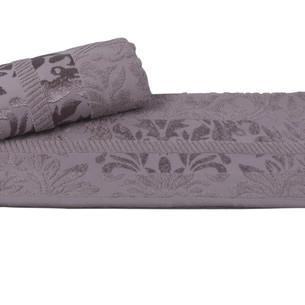 Полотенце для ванной Hobby Home Collection VERSAL хлопковая махра серый 70х140