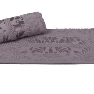 Полотенце для ванной Hobby Home Collection VERSAL хлопковая махра серый