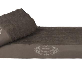 Полотенце Hobby ZAFIRA коричневый