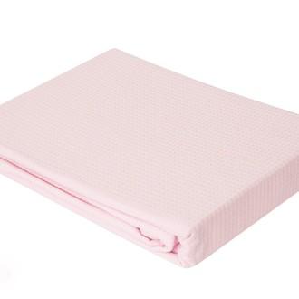 Простынь-покрывало-одеяло Brielle ELMAS пике розовый