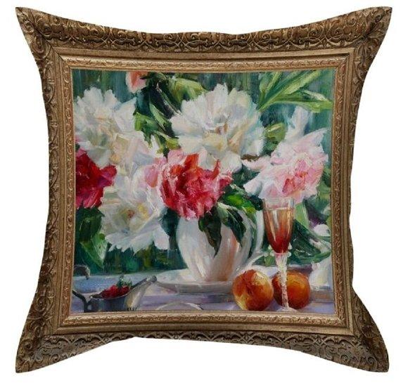 Декоративная подушка Garden V63 45*45, фото, фотография