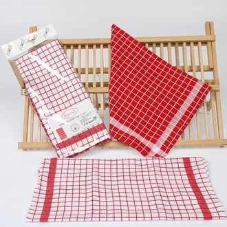 Набор полотенец Pinar PICNIC красный