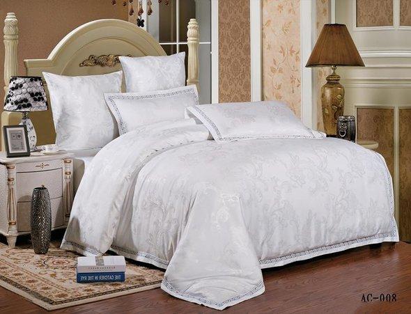 Комплект постельного белья Kingsilk ARLET AC-008 сатин-жаккард евро, фото, фотография