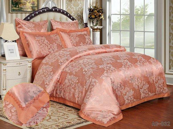 Комплект постельного белья Kingsilk ARLET AC-032 сатин-жаккард 2-х спальный, фото, фотография