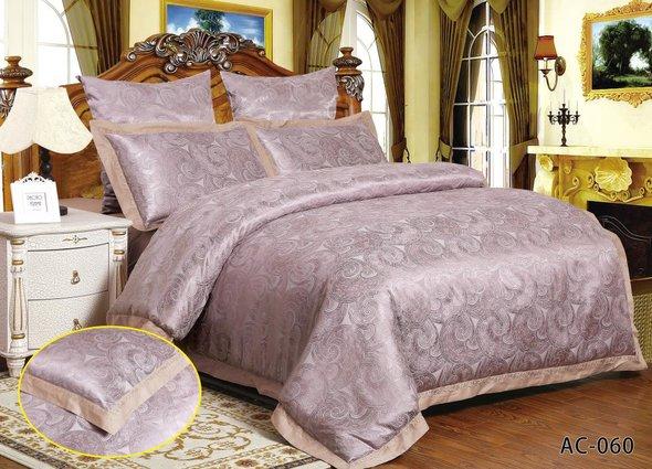 Комплект постельного белья Kingsilk ARLET AC-060 сатин-жаккард семейный, фото, фотография