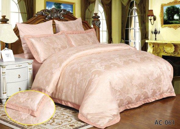 Комплект постельного белья Kingsilk ARLET AC-061 сатин-жаккард евро, фото, фотография