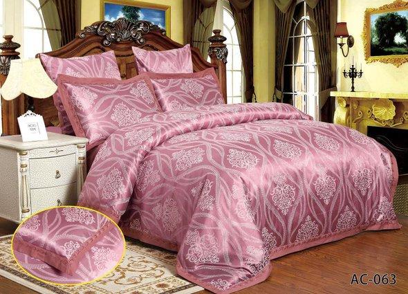 Комплект постельного белья Kingsilk ARLET AC-063 сатин-жаккард семейный, фото, фотография