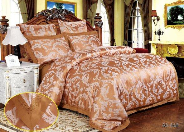 Комплект постельного белья Kingsilk ARLET AC-068 сатин-жаккард 2-х спальный, фото, фотография