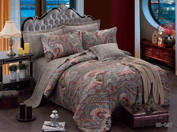 Комплект постельного белья Kingsilk ARLET CD-057 сатин семейный, фото, фотография