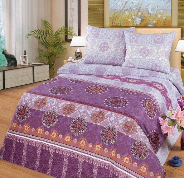 Комплект постельного белья Cleo PP-187 поплин семейный, фото, фотография