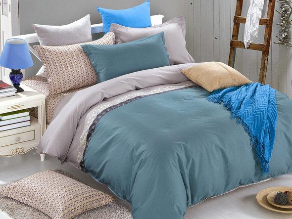 Комплект постельного белья Cleo SL-038 сатин семейный, фото, фотография