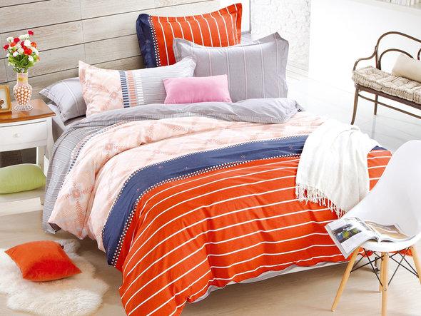 Комплект постельного белья Cleo SL-039 сатин 1,5 спальный, фото, фотография