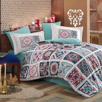 Комплект постельного белья Hobby MOZAIQUE поплин голубой