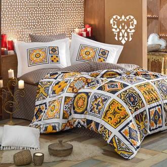 Комплект постельного белья Hobby MOZAIQUE поплин жёлтый