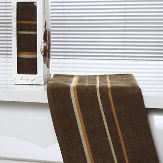 Полотенце Altinbasak RAINBOW махра хлопок коричневый