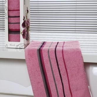 Полотенце Altinbasak RAINBOW махра хлопок розовый