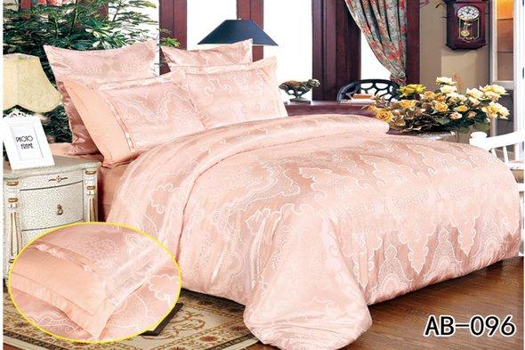 Комплект постельного белья Kingsilk ARLET AB-096 сатин-жаккард семейный, фото, фотография